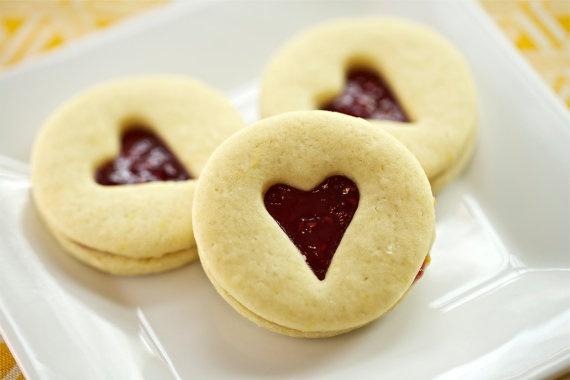 Sweet Jam Sandwich Cookie | great food!! | Pinterest