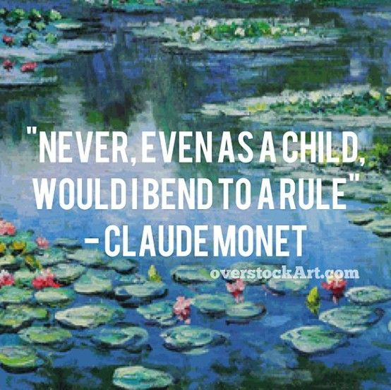 Claude monet quotes quotesgram for Garden pond quotes