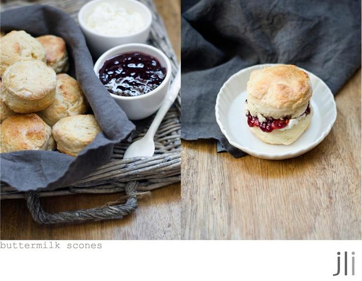 Buttermilk scones - photography by Jillian Leiboff---http ...