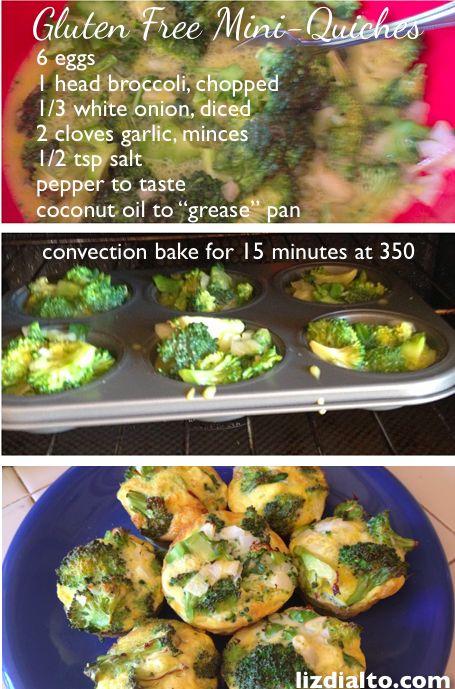 Gluten Free Muffins aka Mini-Quiches | lizdialto.com