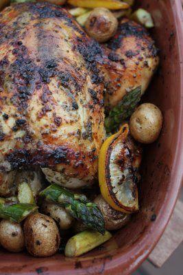 Roast Lemon and Oregano Chicken | Yum Yum | Pinterest