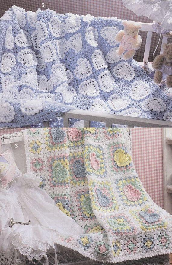 Sweetheart Baby Afghan Crochet Patterns - 8 Beautiful ...