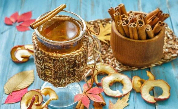 Hot drinks/Lämpimät juomat: hot apple cider with Calvados/kolmen ...