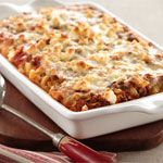 Greek-Style Lamb Casserole - This vegetable-filled ground lamb sauce ...