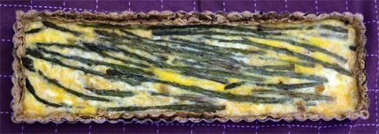 Asparagus and Parmesan Tart   Yummy Yummy in my Tummy   Pinterest
