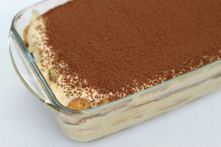 Irish Cream Tiramisu, delish! | Food | Pinterest