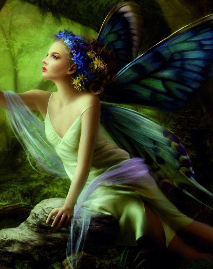Beautiful fairy   Fairy Art 7   Pinterest