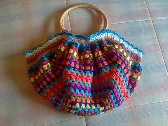 crochet granny bag Crochet and Craft Ideas Pinterest