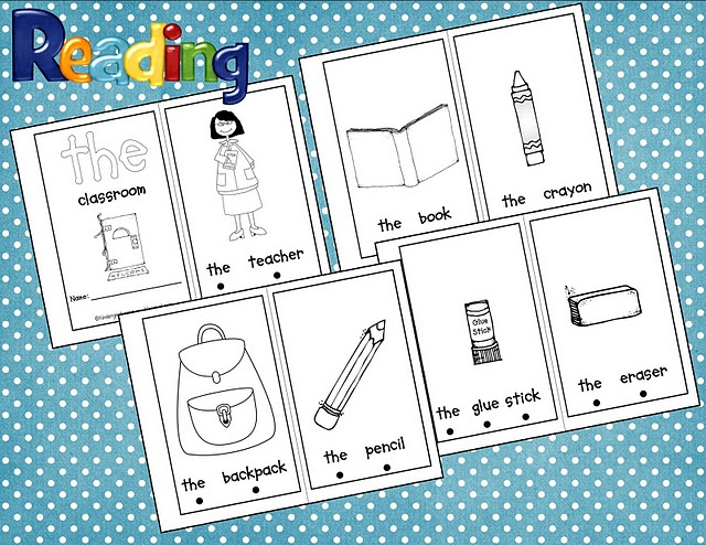 printable see sight  word Books book