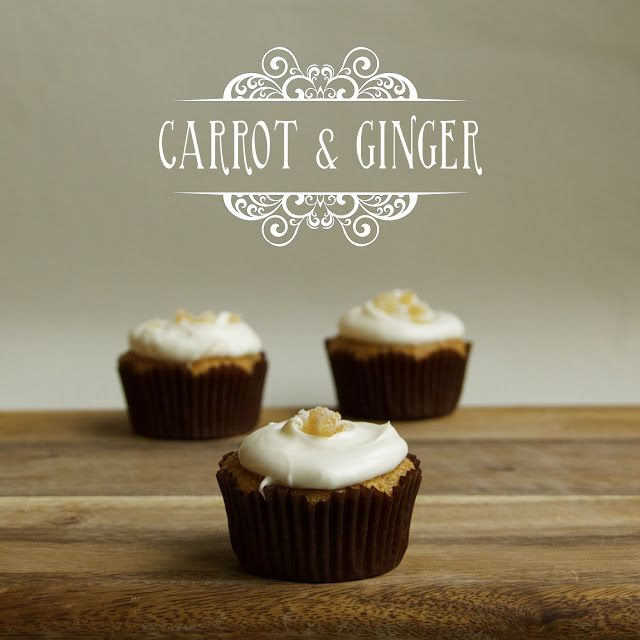 Spelt And Carrot-Ginger Cupcakes Recipes — Dishmaps