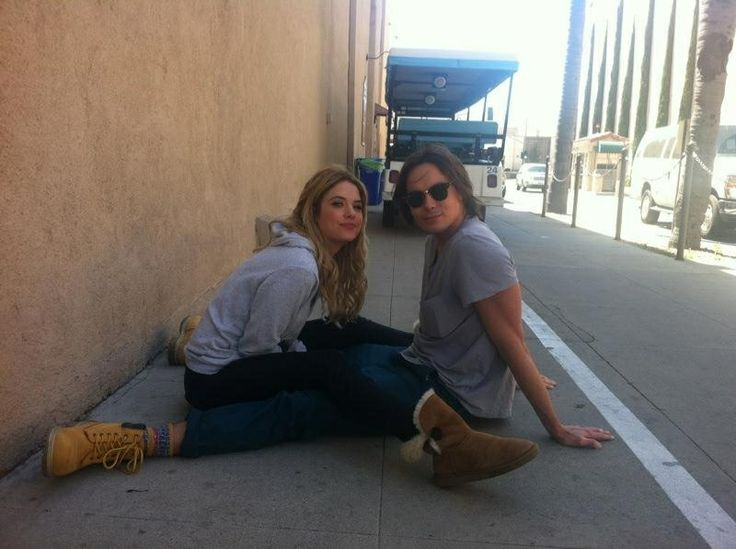 Ashley Benson and Tyler Blackburn | Ashley Benson | Pinterest