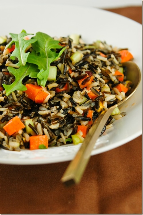Wild and Brown Rice Salad | Salad Love | Pinterest