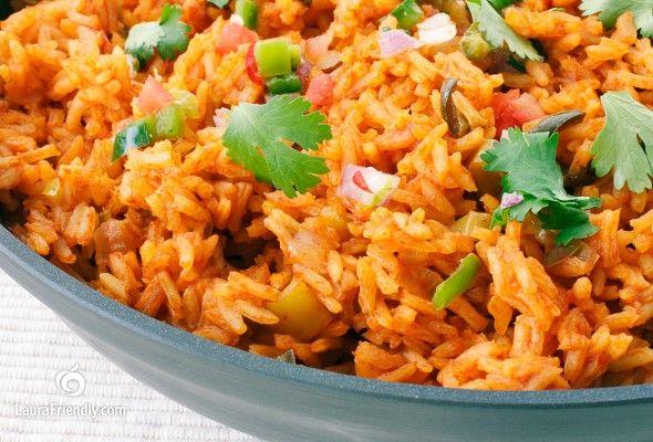 Gluten Free Spanish Rice | Laura Friendly (sub out chicken bouillion ...