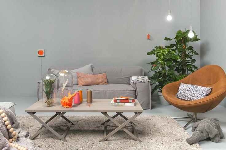 Woonkamer Retro : Je woonkamer in vintage stijl inrichten