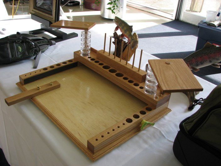 Fly+Tying+Bench+Ideas Fly tying work station | Fly tying station ...
