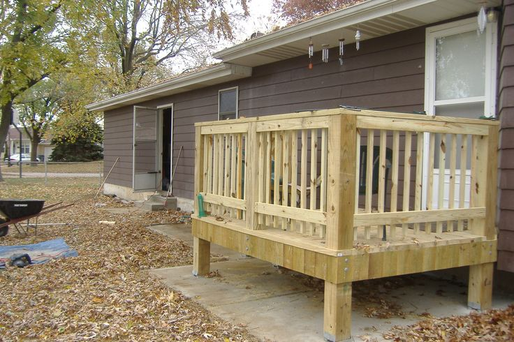 Small deck design 1 for the home pinterest - Deck designs for small spaces style ...