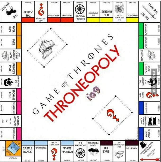 game of thrones monopoly regeln