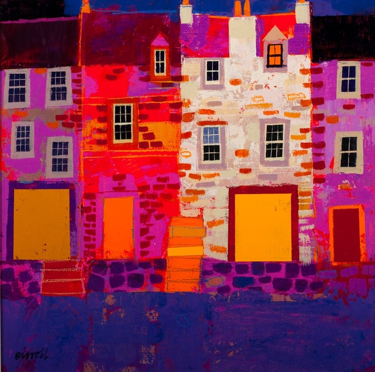 Newly Painted Doors by George Birrell.