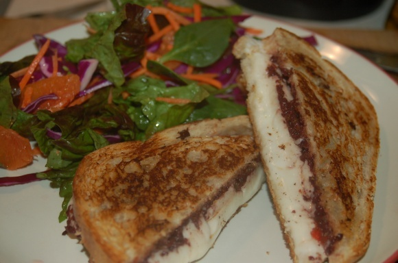 sandwich es grilled mozzarella sandwich with anchovy olive tapenade ...