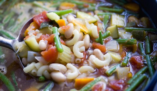 Recipes for Health - Summer Minestrone With Fresh Basil - NYTimes.com