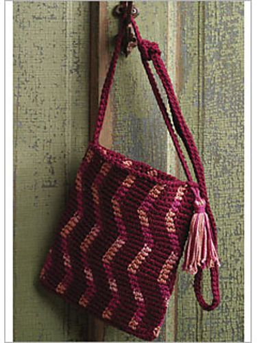 Tapestry Crochet Bag : Ravelry: Tapestry Crochet Bag pattern by Pam Allen