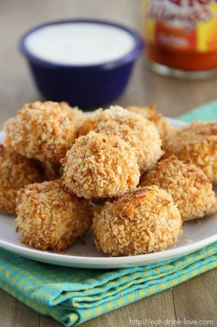 RECIPE - Buffalo Chicken Bites | Deliciousness | Pinterest