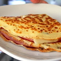French Ham, Cheese and Egg Crepes | Recipes {Breakfast Goodness} | Pi ...