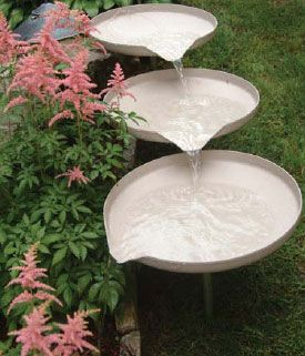 Cascading Dish Fountain