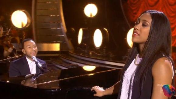 Filipino american malaya watson performed a duet with singer