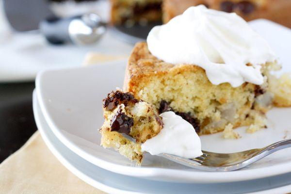 bittersweet chocolate and pear cake | cake & cheesecake | Pinterest