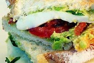 Mozzacado Sandwich | Food | Pinterest