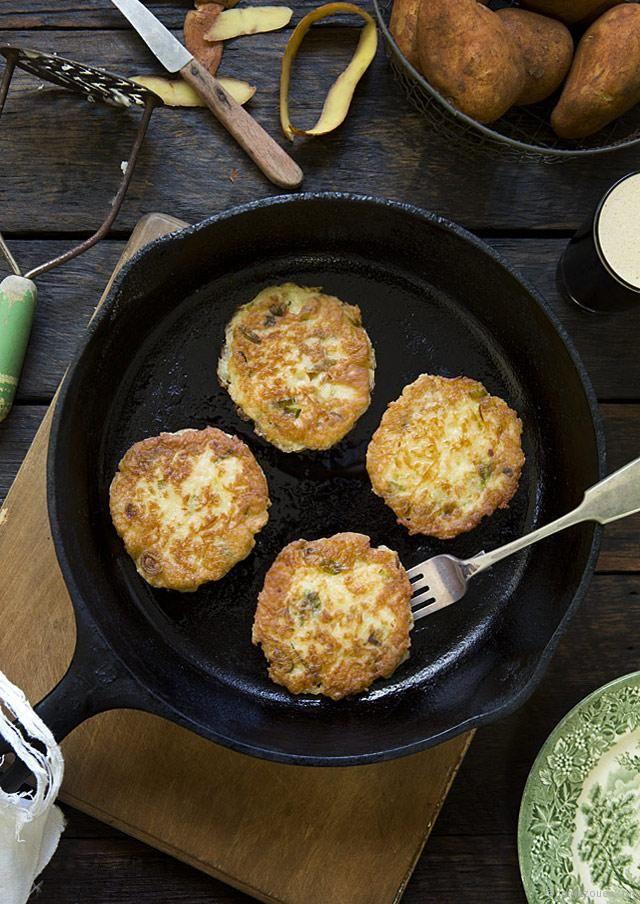Gluten-free Boxty (Irish potato pancakes) | The Cook Who Knew Nothing ...