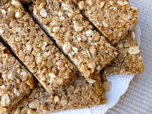 Crunchy Peanut Butter Granola Bars - Simple Nourished Living | Weight ...