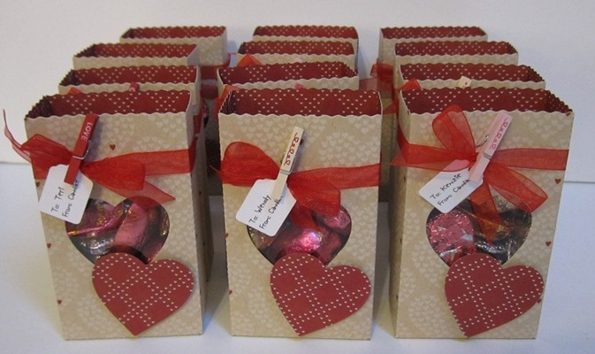 valentine's day paper bag decorating ideas