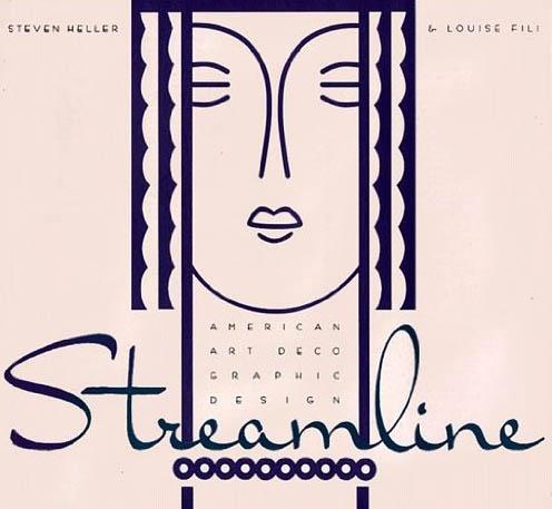Streamline American Art Deco Graphic Design