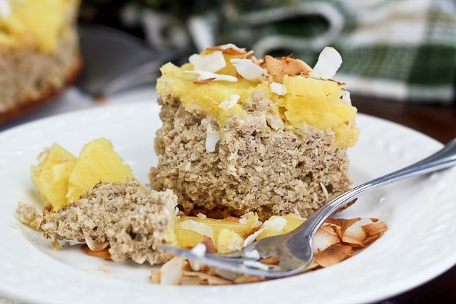 Upside Down Pineapple (Breakfast) Cake from The Healthy Foodie (http ...