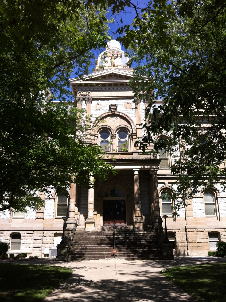 Shelby County Courthouse, Sidney, Ohio.