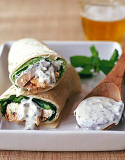 Tandoori chicken roll ups--this are great! And they take 20 minutes!