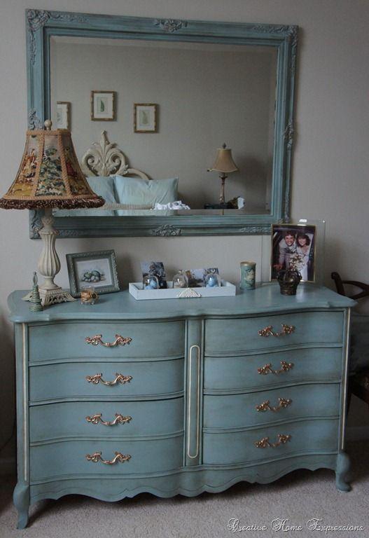 Annie Sloan Duck Egg Blue Design On A Dime Ideas Pinterest