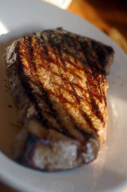 Grilled London Broil 3 cloves garlic chopped 1 cup oil 1/2 cup white ...