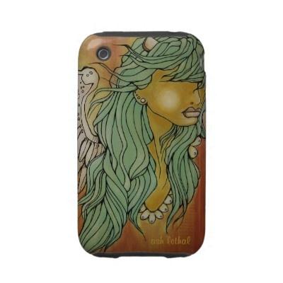 devilish angel iphone 3 case