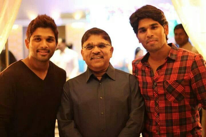 Allu Arjun's brother and father   Tollywood   Pinterest