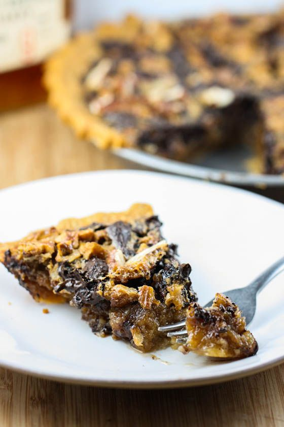 Chocolate Bourbon Pecan Pie | Yummy foods for Fall & winter | Pintere ...