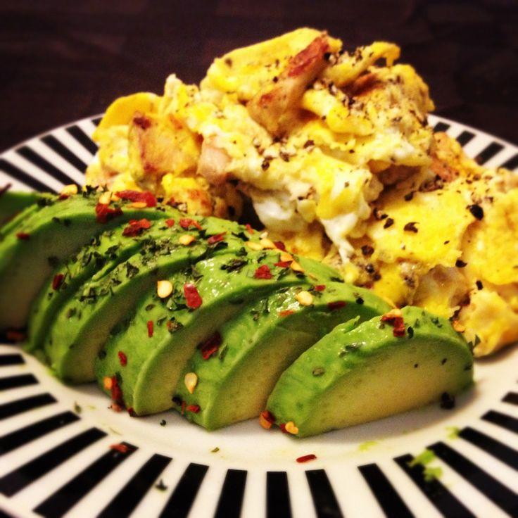Spicy Scrambled Eggs | recip[e]book | Pinterest