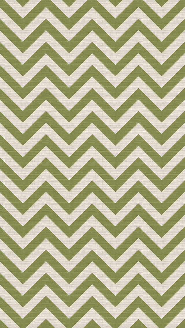 iPhone 5 wallpaper - #chevron #green #pattern