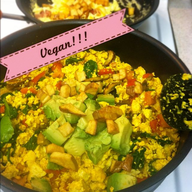 Vegan Breakfast Burritos #VeganMOFO | Breakfasts | Pinterest