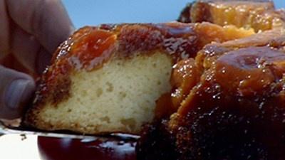 Apricot Upside-Down Cake by Bill Granger