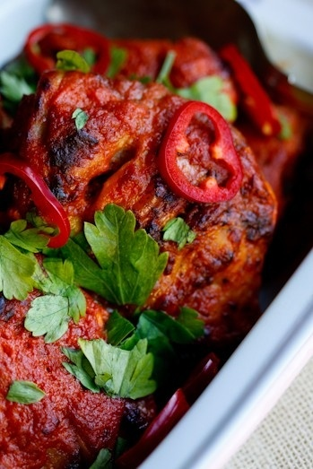 Chicken Barbecue Indian Style | stylish lunch | Pinterest