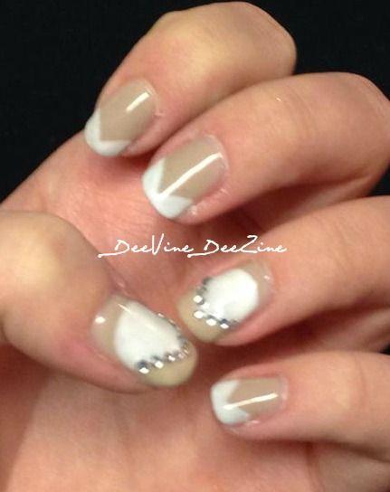 Neutral French Manicure. Sensationail gel.