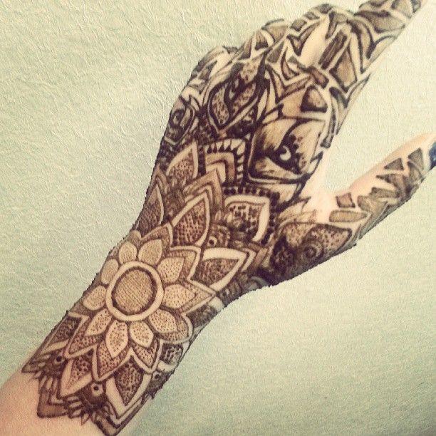 Henna Tattoo Ink : Henna art ink makedes
